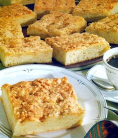 Butter Kuchen- brings me back to when my grandma made this when I was a kid