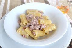 Pasta alla norcina, scopri la ricetta: http://www.misya.info/2015/03/13/pasta-alla-norcina.htm