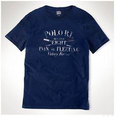 6331b44199839 prix polo ralph lauren - Polo Ralph Lauren Classic Fit Col Rond T-Shirt  Marine