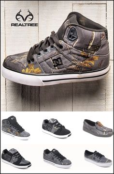 Check out #New complete line of DC shoes in Realtree Xtra Color Camo.#Realtreegear