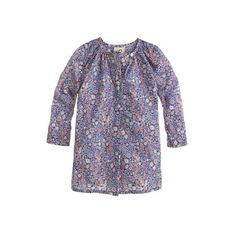 J.Crew - Baby Liberty tunic in Kayoko floral