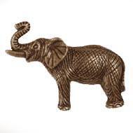 MNG Designer Hardware-Animal Collection Elephant  Cabinet Knob