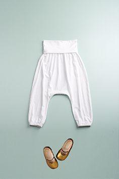 tiny harem pants.  seriously love.