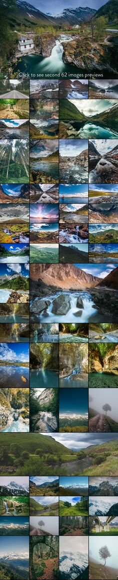 Go Outdoor - Nature photo pack v.2 by Madebyvadim on Creative Market #nature #bundle #photos