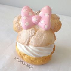 """Disney cream puff squishy! """