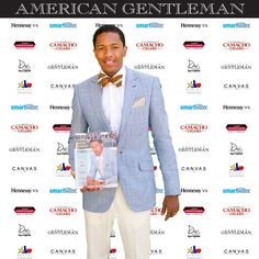 Nick Cannon in Klein Epstein & Parker looking every bit the gentlemen with American Gentlemen magazine.