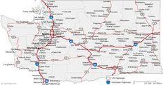 Map of Washington Cities - Washington Road Map