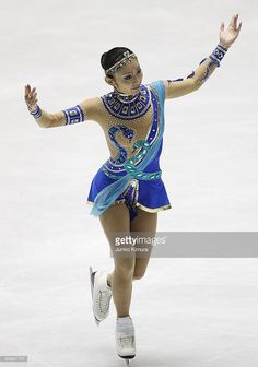 Miki Ando of Japan competes in the Ladies Free Skating on the day three of ISU Grand Prix of Figure Skating Final at Yoyogi National Gymnasium on December 5, 2009 in Tokyo, Japan.