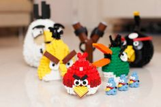 Angry Birds LEGO Builds