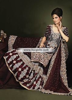 Elegant Pakistani Bridal Gharara Dresses Designer Wedding Dresses Ajman UAE