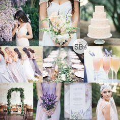 Lavender, Peach & Em