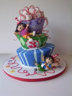 I hope Keanu and Lanai like Dora & Diego more by their 3rd birthdays