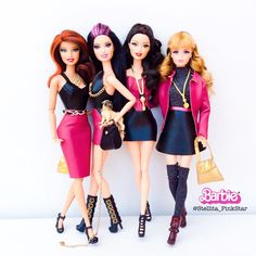 pinkstar handmade collection for Barbie