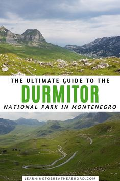 The Sedlo Pass Route through the Durmitor National Park is a spectacular road trip. The route takes you through stunning scenery from Zabljak to Pluzine. Travel Advice, Travel Guides, Travel Tips, Top Travel Destinations, Travel Europe, Montenegro Travel, Paradise Travel, Ultimate Travel, Campervan