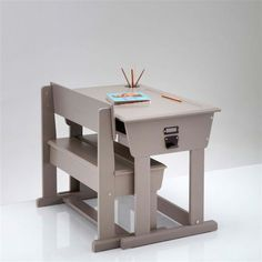 Bureau pupitre + chaise d'écolier, Toudou La Redoute Interieurs