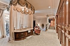 luxury open bath design