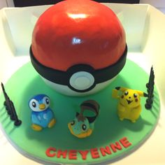 Poke'mon Cake great for Kids