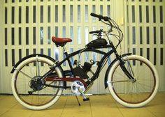 Mbm Honolulu cruiser bike engine conversion 2stroke