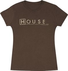 Fox House M.D. Logo Script Juniors Tee