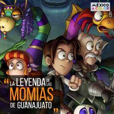 En esta ocasión Leo San Juan, Don Andrés, Teodora y el Alebrije llegan a Guanajuato para intentar detener a las momias —que han despertado inexplicablemente—   Lee más: http://mexicoacolor.com/la-leyenda-de-las-momias-de-guanajuato/