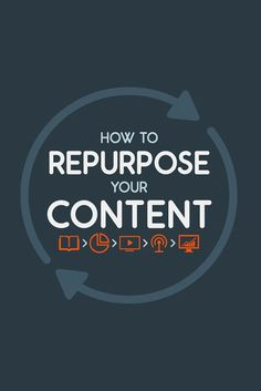 11 ways to repurpose your best content. Content marketing tips and tricks to improve your social media presence and strategy