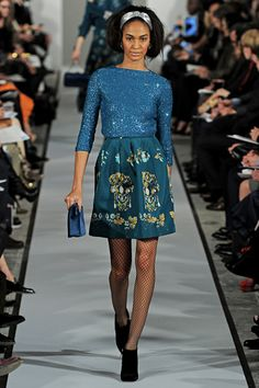 Oscar de la Renta Fall 2012 Ready-to-Wear Collection Slideshow on Style.com