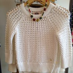 4f27ed319dbda4 Chunky knit Juicy Couture sweater at Tangerine!  tangerineBR Knit Or  Crochet