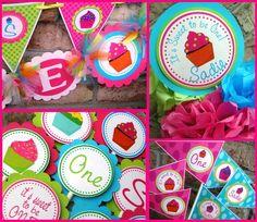 Cupcake Birthday Theme