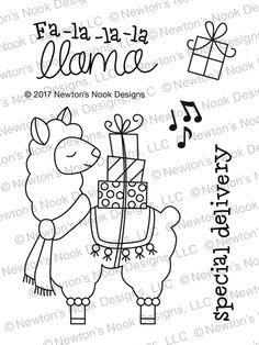 No Prob Llama Printablecoloring Page A Printables