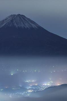 """"""" 富士の雲海 by (550DS) Fuji Japan """""""