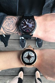 What's better than one Q smartwatch? Two! via  @ itsnotheritsme