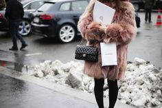Chanel and Fur. Can never go wrong.
