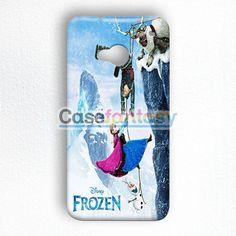 Frozen Elsa Purple Dress HTC One M7 Case | casefantasy