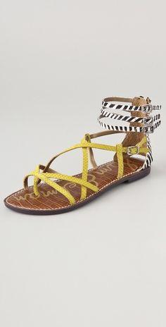437b9e6ce0081a Sam Edelman Gable Strappy Haircalf Sandals