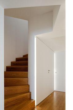 stair open, light , wood