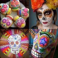sugar skull cookies - Google Search