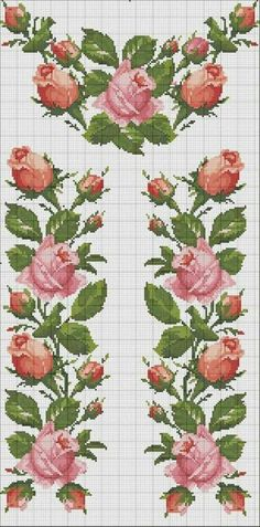 Rosas para Caminho de Mesa - / Roses for Table Path -