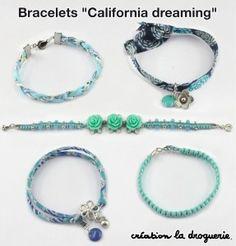 Coffret Bracelets California dreaming Aquatique