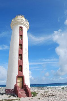 ✯ Lacre Punt lighthouse in Bonaire - Caribbean