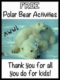 Promoting Success: Free Polar Bear Teaching Resources