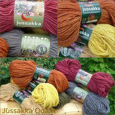 Jussakan kasvivärjätyillä langoilla on nyt uudet vyötteet. #jussakka #kasvivarjays #colors #wool #knitting #neule #kasityokortteli  https://www.facebook.com/pages/JUSSAKKA-Oda-K/173696896121402?ref=hl www.jussakka.fi
