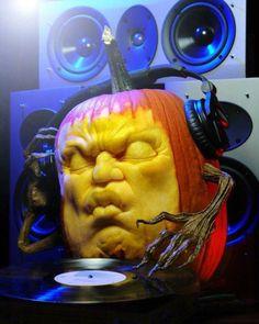 DJ Pumpkin in the house!