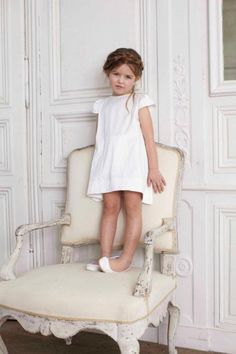all white....little angel