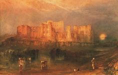 Kenilworth Castle Painting by Joseph Mallord William Turner | Oil ...