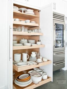 A Dish Pantry | Smart Kitchen Storage Ideas To Clean Up Your Space