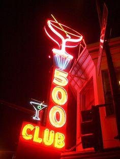 500 Club, Mission District, San Francisco