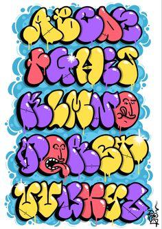 Graffiti Letters Styles, Graffiti Text, Graffiti Words, Graffiti Lettering Fonts, Graffiti Writing, Best Graffiti, Tattoo Lettering Fonts, Graffiti Tagging, Graffiti Artwork