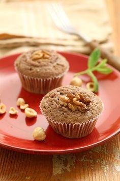 Ricetta Muffins variegati al cacao e noci | Cirio