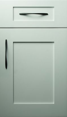Quaker Door With Flat Faced Drawer Could Widen Top And