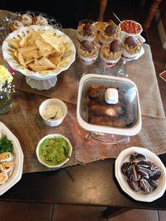Food Table set up #2